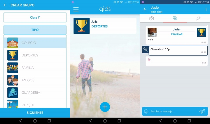 Imagen - Qids, la app para grupos de conversación entre padres