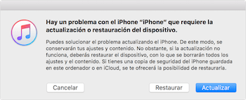Imagen - ¿Por qué no puedo actualizar iOS?