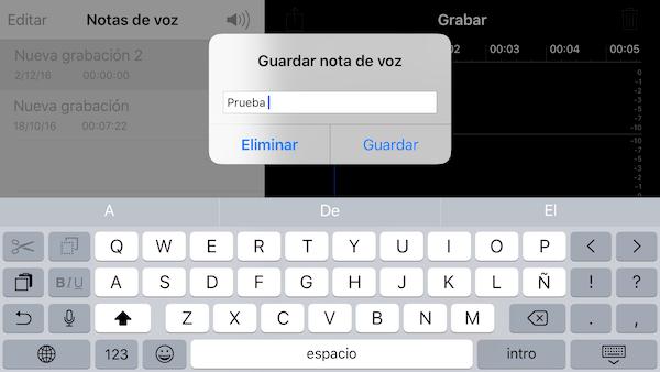 Imagen - ¿Dónde se guardan las notas de voz en el iPhone?