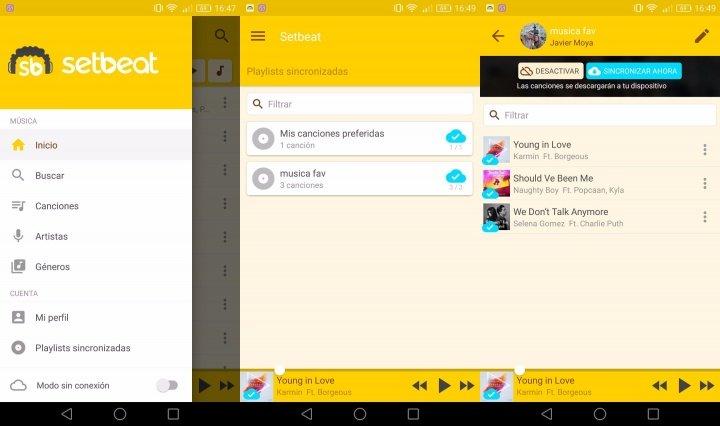 Imagen - Setbeat, descarga música gratis en el ordenador, Android e iOS
