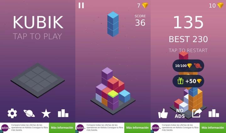Imagen - Descarga Kubik para Android, una curiosa alternativa al Tetris