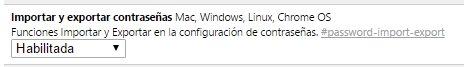Imagen - Cómo importar y exportar tus contraseñas de Chrome