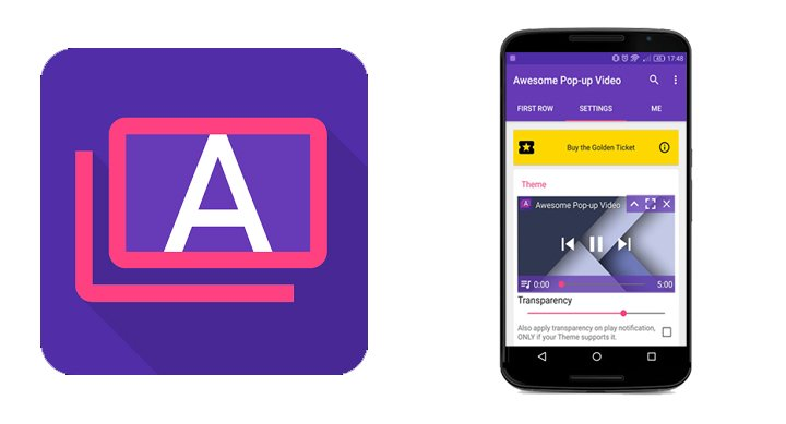 Awesome Pop-up Video, el reproductor flotante de vídeos de YouTube para Android