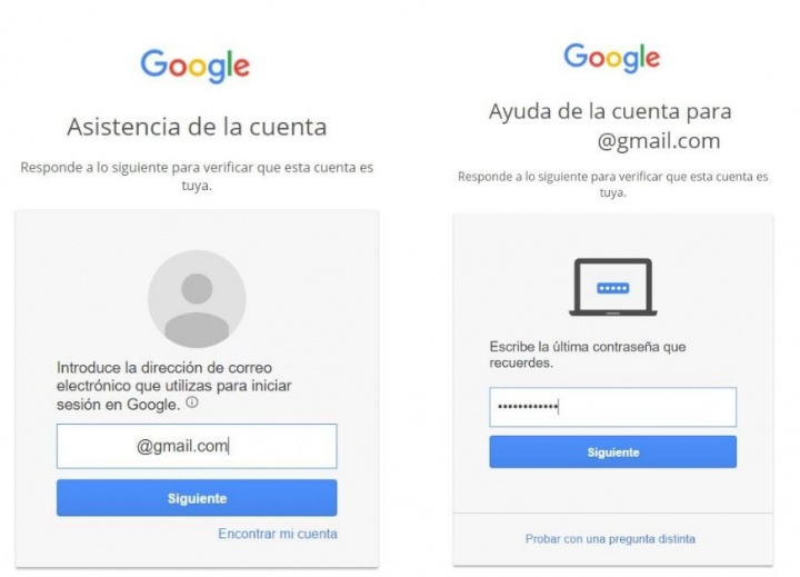 Imagen - Cómo recuperar la contraseña de Gmail