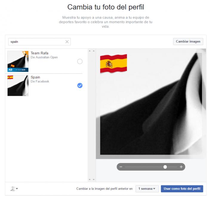 Imagen - Cómo poner la bandera de tu país en la foto de perfil de Facebook
