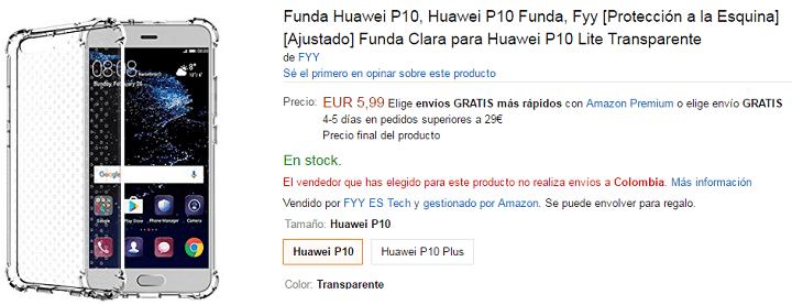 Imagen - 7 fundas para el Huawei P10