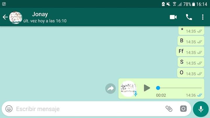 Imagen - Conoce si leen WhatsApp aunque tengas el doble check azul desactivado