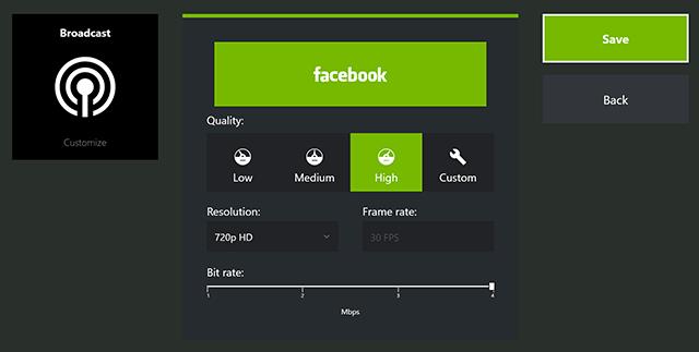 Imagen - Cómo hacer streaming de videojuegos en Facebook Live con GeForce