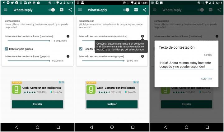 Imagen - Cómo tener respuestas o contestador automático en WhatsApp