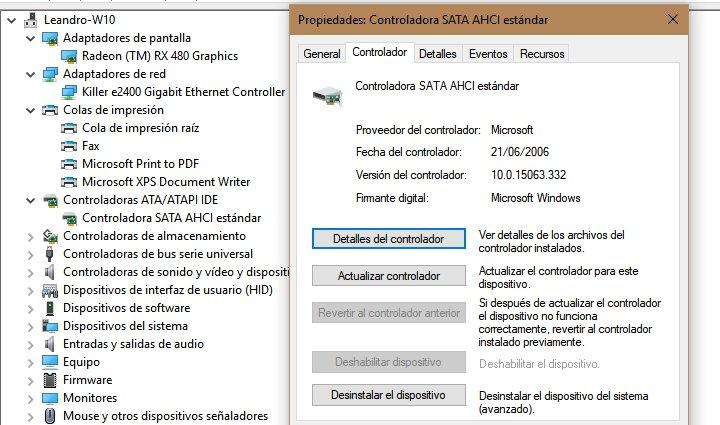 Imagen - ¿Por qué todos los controladores de Windows tienen la misma fecha?