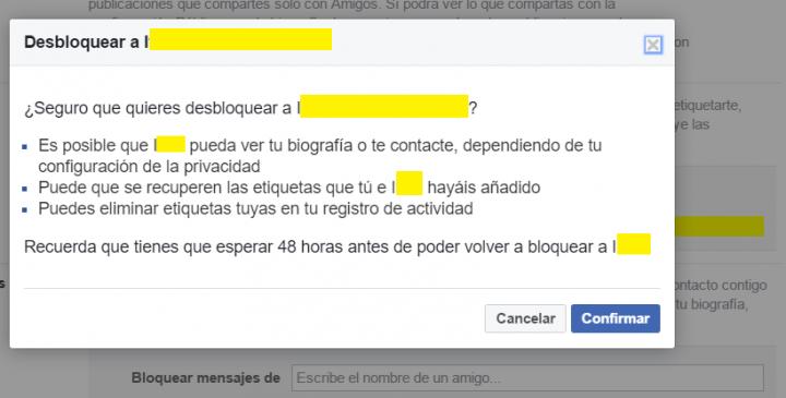 Imagen - Cómo desbloquear a alguien de Facebook