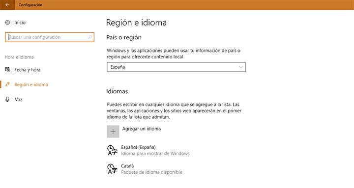 Imagen - Cómo cambiar el idioma de tu Windows 10