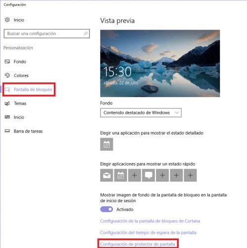 Imagen - Cómo bloquear automáticamente Windows 10