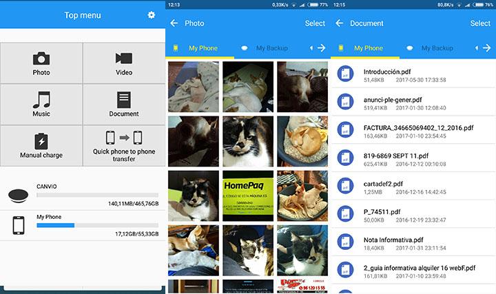 Imagen - Review: Toshiba Canvio for Smartphone carga tu teléfono y copia tus archivos personales