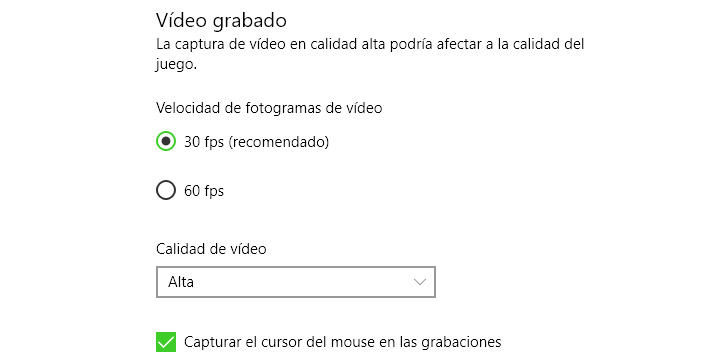 Imagen - Graba tus partidas de videojuegos en PC con Windows 10