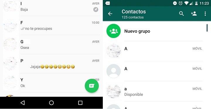 Imagen - ¿Dónde están los contactos WhatsApp?
