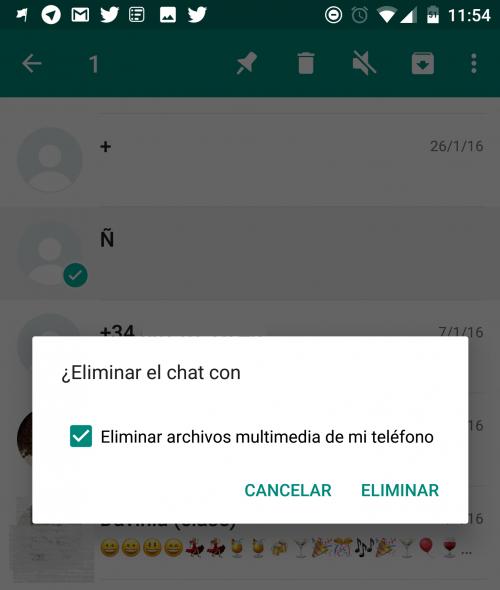 Imagen - Cómo eliminar conversaciones de WhatsApp