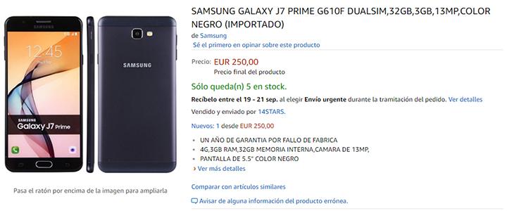 Imagen - Dónde comprar el Samsung Galaxy J7 Prime