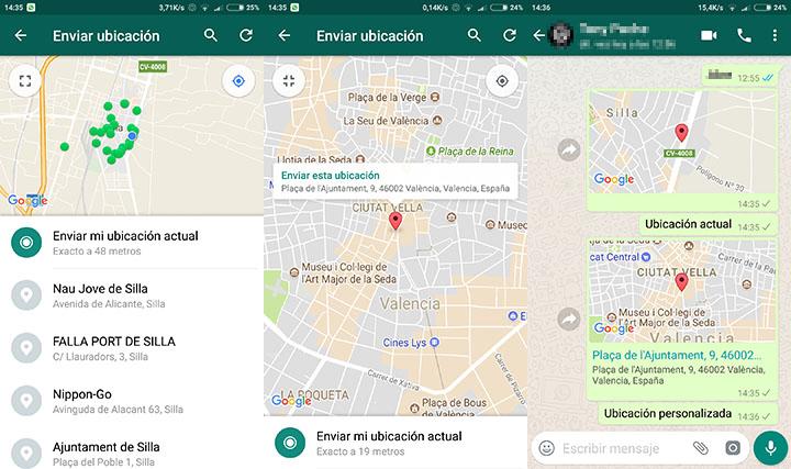 Imagen - Cómo enviar una ubicación falsa en WhatsApp