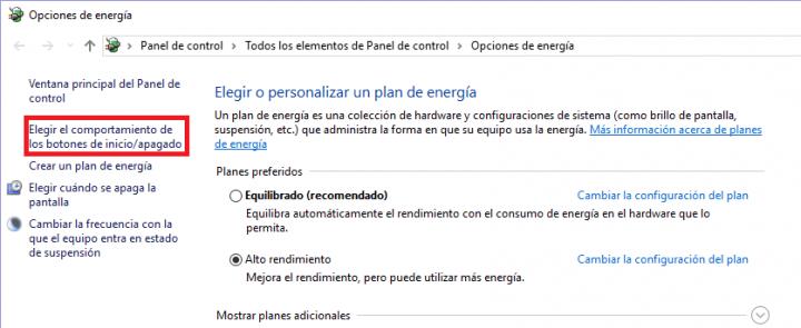 Imagen - Personaliza el comportamiento del botón de encendido de tu PC en Windows 10