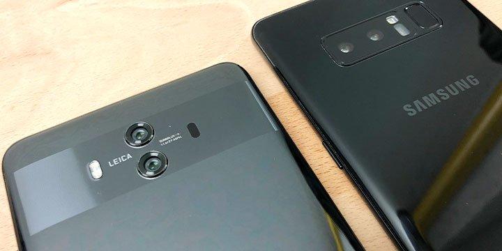 Huawei Mate 10 vs Galaxy Note 8: ¿cuáles son las diferencias?