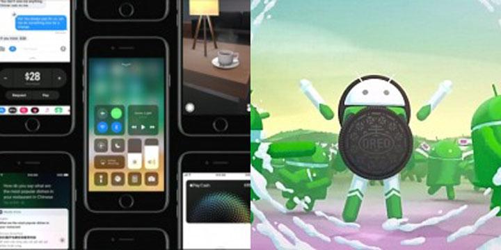 iOS 11 o Android O: ventajas y desventajas