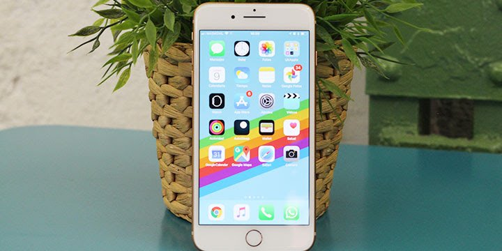 Review: iPhone 8 Plus, carga inalámbrica y más resistente al agua