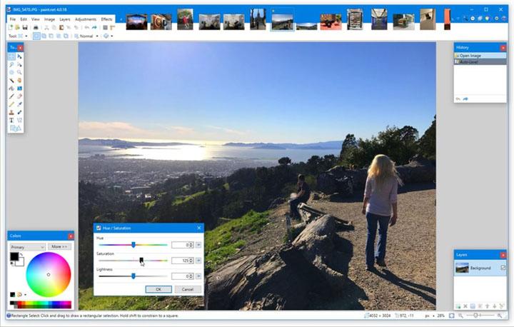 Imagen - Paint.NET, la alternativa gratuita a Adobe Photoshop para Windows 10 que es todo un éxito