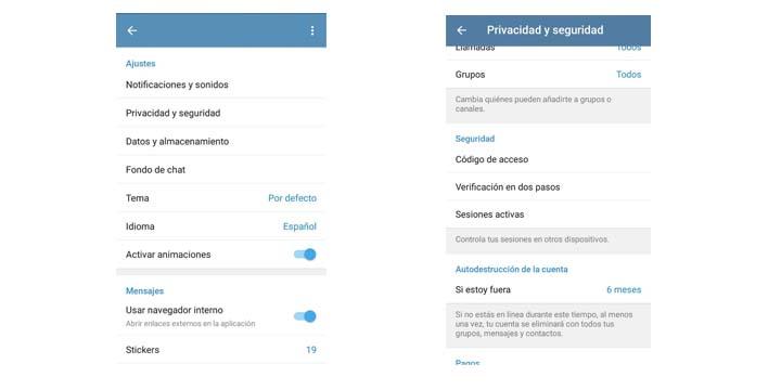 Imagen - Cómo activar la verificación en dos pasos en Telegram