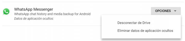 Imagen - Cómo borrar la copia de seguridad de WhatsApp de Google Drive