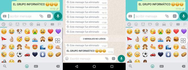 Imagen - Cómo ver los mensajes que borran remotamente en WhatsApp