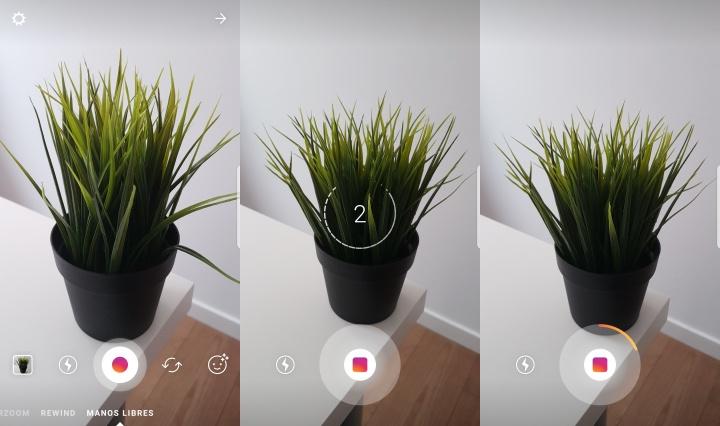 Imagen - Cómo usar el modo manos libres en Instagram