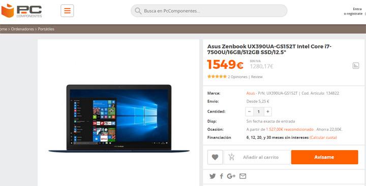 Imagen - Dónde comprar el ASUS ZenBook 3