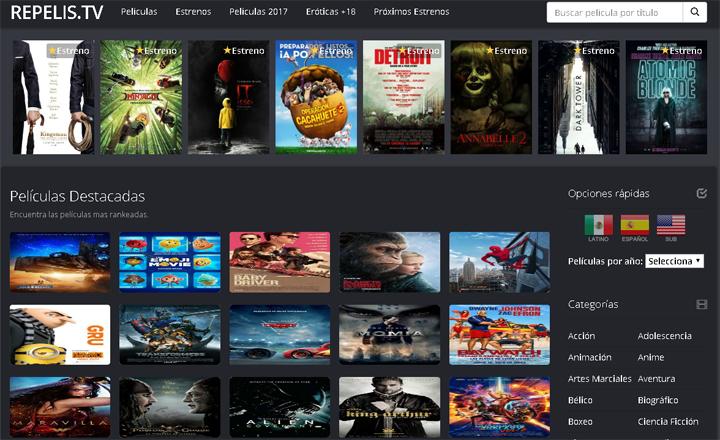 Imagen - RePelis, una web para ver películas gratis en Internet