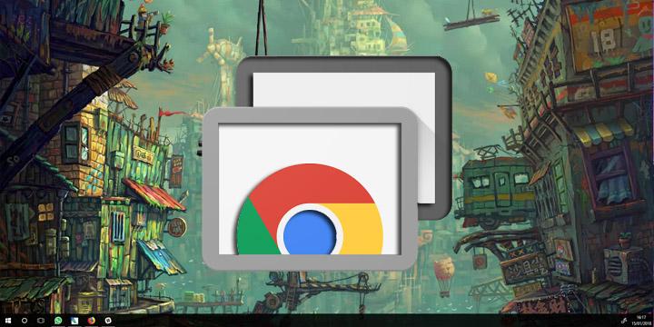 Cómo usar el Escritorio Remoto de Chrome