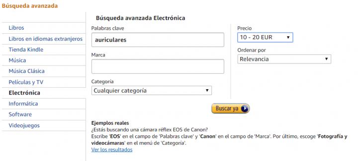 Imagen - Cómo filtrar por precio en Amazon