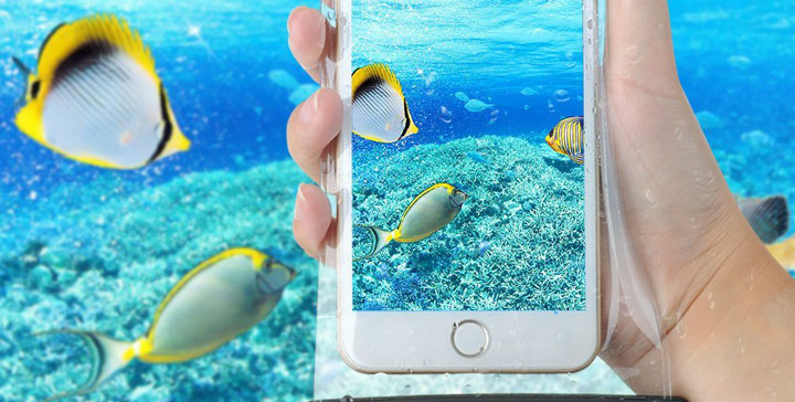 10 fundas acuáticas para tu móvil
