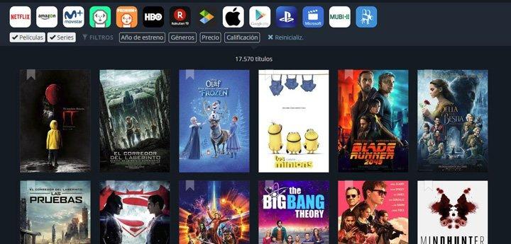 Imagen - JustWatch, descubre qué ver en Netflix, HBO, Prime Now y más