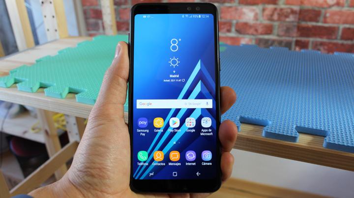 Imagen - Review: Samsung Galaxy A8 (2018), doble cámara frontal y pantalla sin apenas biseles