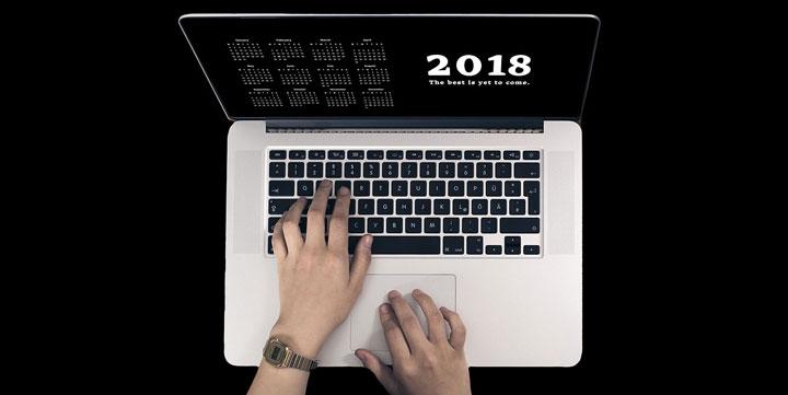7 plantillas de calendario laboral 2018