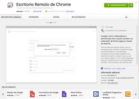 Imagen - Cómo usar el Escritorio Remoto de Chrome