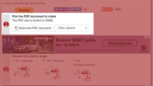 Imagen - Cómo girar un PDF