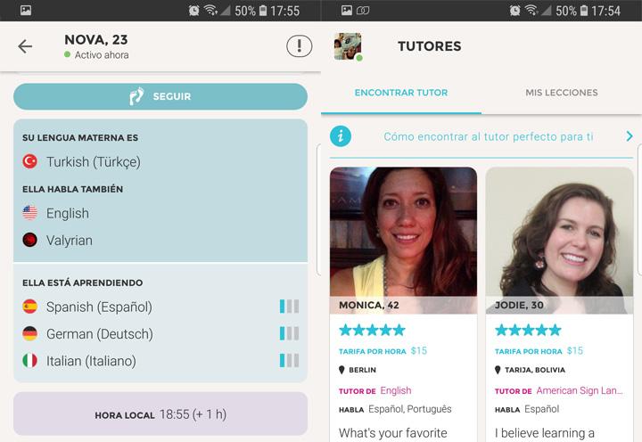 Imagen - Descarga Tandem, la app para hablar con otros y aprender idiomas
