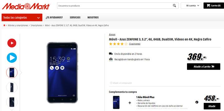 Imagen - Dónde comprar el  ASUS ZenFone 3