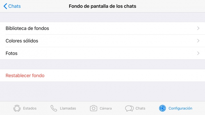 Imagen - Cómo cambiar el fondo de WhatsApp