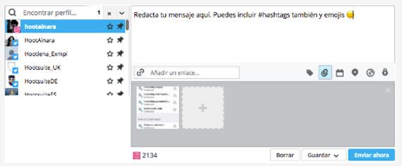 Imagen - Cómo programar publicaciones en Instagram con Hootsuite