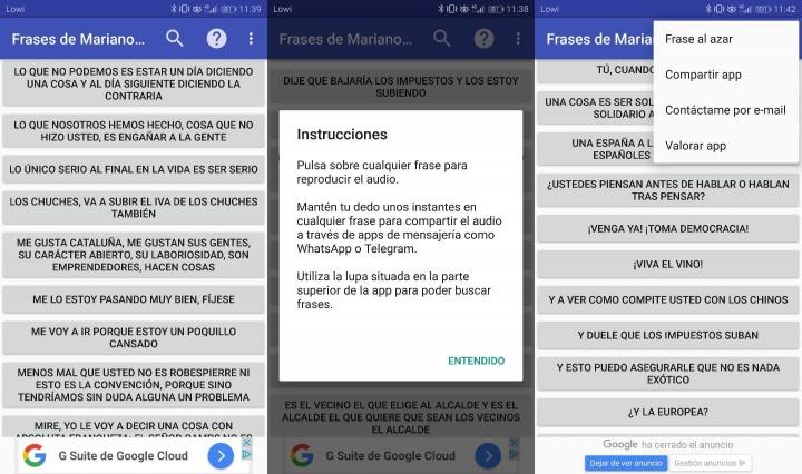 Imagen - Frases de Mariano Rajoy, descarga la app para Android