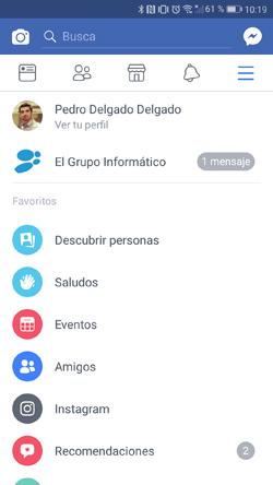 """Imagen - ¿Qué es """"Saludos"""" en Facebook?"""