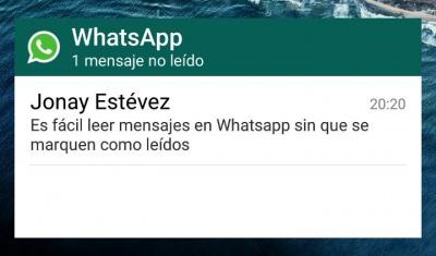 Imagen - Cómo evitar que lean mis mensajes de WhatsApp sin que salga el doble check azul