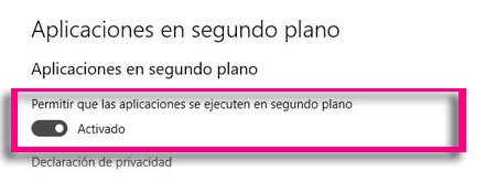 Imagen - Cómo evitar que las apps de Windows 10 se ejecuten en segundo plano